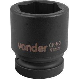 Soquete Sextavado de Impacto Encaixe 1 Pol. 41 mm Aço Cromo Molibdênio
