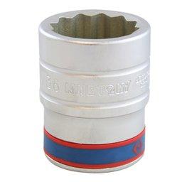Soquete Estriado com Encaixe de 1 Pol. - 36 mm