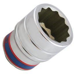 Soquete Estriado com Encaixe de 1 Pol. - 38 mm