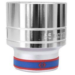 Soquete Estriado com Encaixe de 1 Pol. 55mm