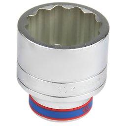 Soquete Estriado com Encaixe de 1 Pol. - 60 mm
