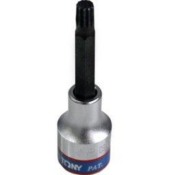 Chave Soquete Multidentada Longa 1/2 Pol. 8mm