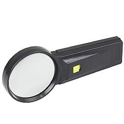 Lupa 75mm com Luz