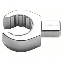 Cabeça Intercambiável Chave Poligonal Aberta Cr-V 17mm com Encaixe 9x12