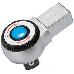 Cabeça Intercambiável Chave Catraca de 3/8 Pol. com Encaixe 9 x 12mm