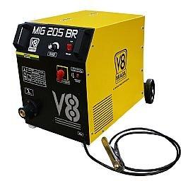 Máquina de Solda MIG 205A  Mono sem Tocha