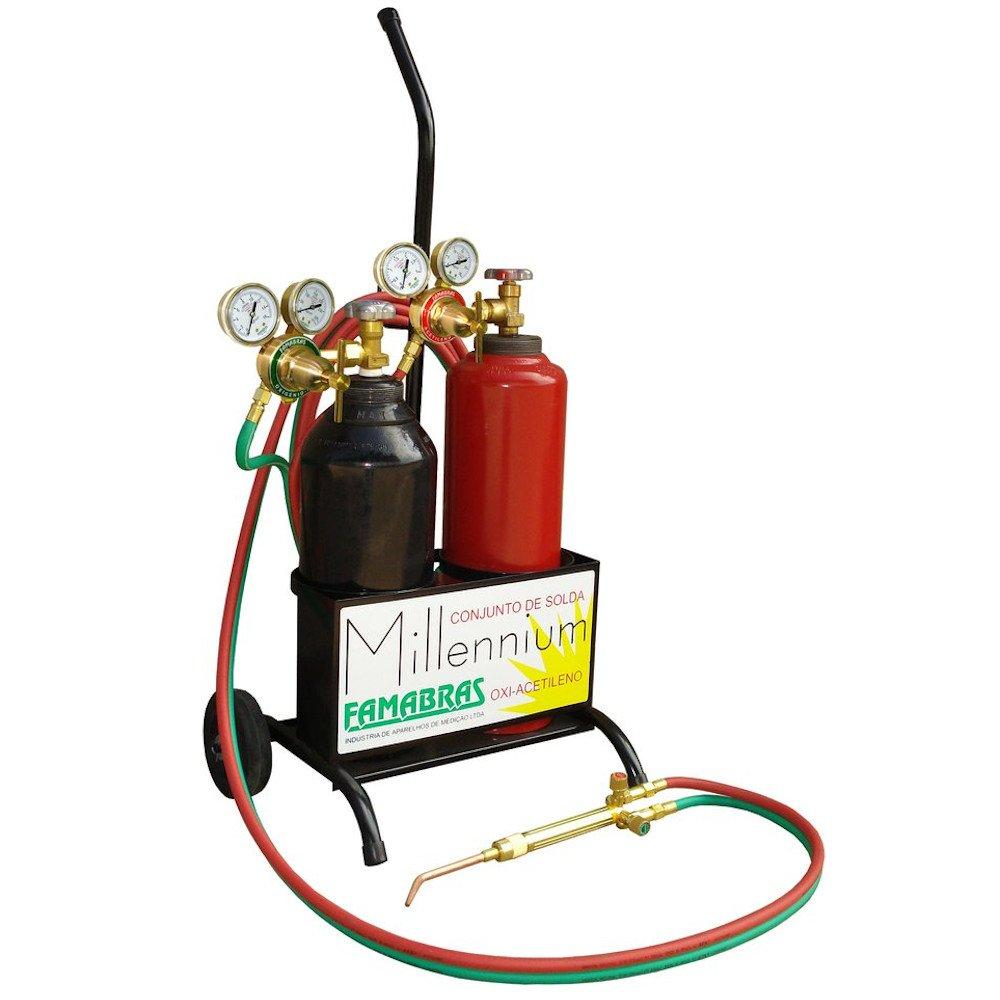 Conjunto de Solda Oxigênio e Acetileno RI