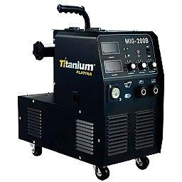 Máquina de Solda Multiprocesso MIG/TIG/MMA Display Digital 200A Mono  com Tocha