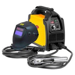 Kit Máquina Inversora de Solda 130A Display Digital Bivolt Vonder RIV136 + Máscara Solda A20 Sensor Escurecimento Esab
