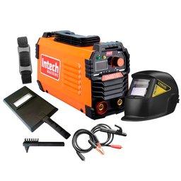 Kit Máquina de Solda Inversora INTECH MACHINE SMIB160 MMA e TIG LIFT 160A Bivolt + Máscara de Solda
