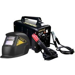 Kit Máquina Transformadora de Solda SCHULZ MTS 150 Compact 150A  + Máscara de Solda