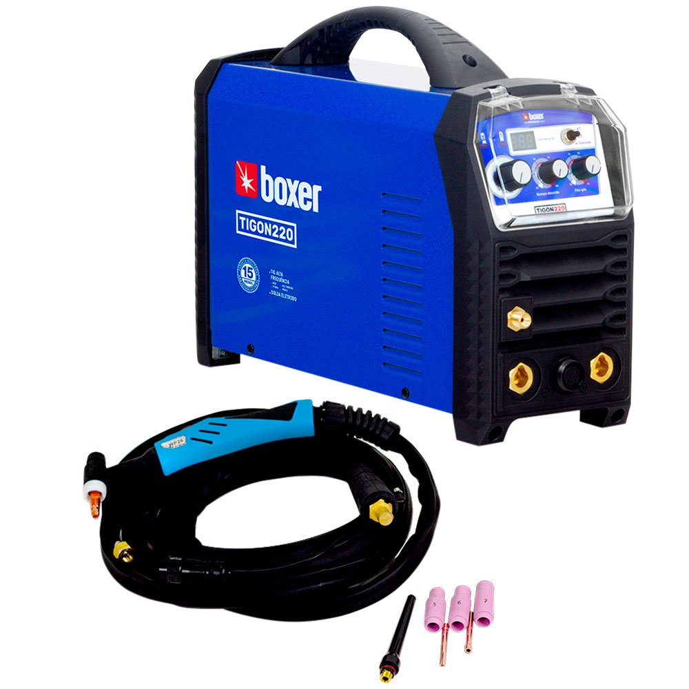 Máquina Inversora de Solda Tig Digital Tigon 220A 220V