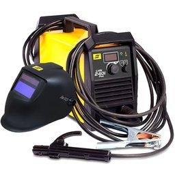 Kit Máquina de Solda Inversora ESAB0733920 LHN 240i Plus 200A + Mascara de Solda ESAB 738295