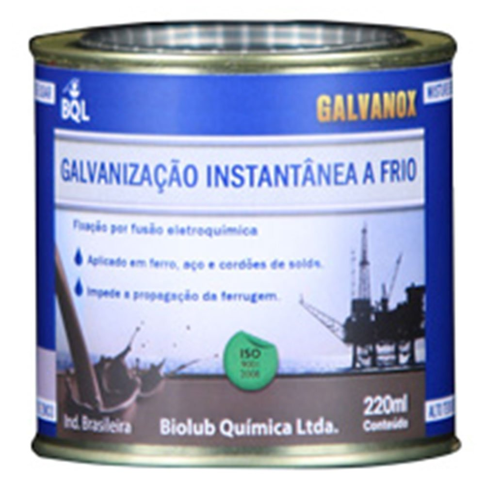 Galvanização Instantâneo a Frio Galvanox 220ml