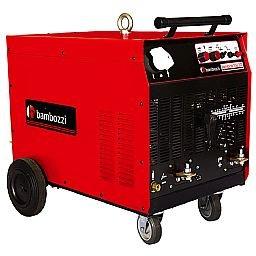Máquina de Solda Bambina Monofásica 300A 220V AC/DC Fator 100 (Cobre) TGS TIG