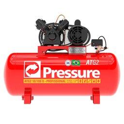 Compressor de Ar Trifásico 10 Pés 100 Litros