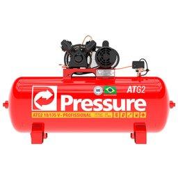 Compressor de Ar Monofásico 10 Pés 175 Litros
