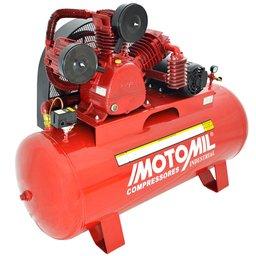 Compressor de Ar Industrial 30 Pés 3P 350 Litros Trifásico 220/380V