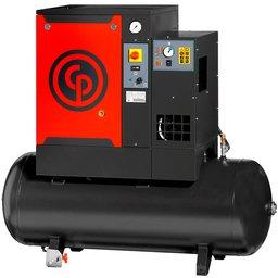 Compressor de Ar Parafuso 10HP 31PCM 265 Litros Trifásico 220V com Secador