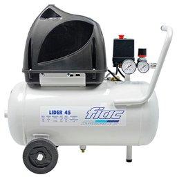 Compressor Odontológico Lider 1,5HP 6 Pés 24 Litros Isento de Óleo 220V