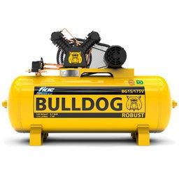 Compressor de Ar Bulldog 3HP 15 Pés 175 Litros Trifásico 220/380V