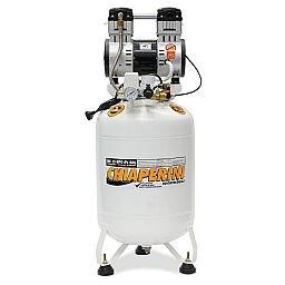 Motocompressor Odontológico 2HP 10 Pés 60 Litros Isento de Óleo 110V