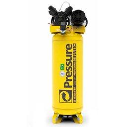 Compressor de Pistão SE Vertical 10 Pés 2HP 100 Litros 220/380V Trifásico