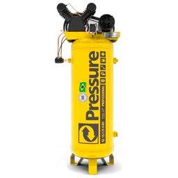 Compressor de Pistão SE Vertical 15 Pés 3HP 175 Litros 220/380V Trifásico