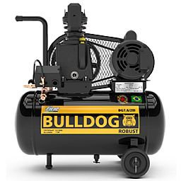 Compressor de Ar Bulldog Robust 1HP 7,6 Pés 28 Litros Monofásico Bivolt