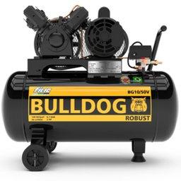 Motocompressor de Ar Bulldog Robust 2HP 10 Pés 50 Litros Monofásico Bivolt