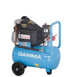 Motocompressor de Ar com 2 Saídas de Ar e Protetor Térmico 7,2 Pes 24L 2HP 110V