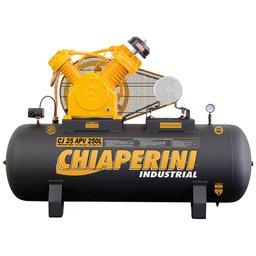 Compressor de Ar Industrial 25 Pés 175PSI 250 Litros sem Motor