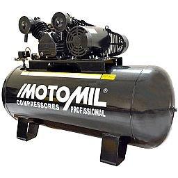 Compressor de Ar Profissional 25 Pés 200L 140Lbs 220/380V Trifásico