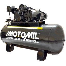 Compressor de Ar Industrial 40 Pés 350L 10HP 220/380V Trifásico