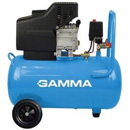 Motocompressor de Ar 50 com 2 Saídas de Ar e Protetor Térmico 2,5HP 50L 220V