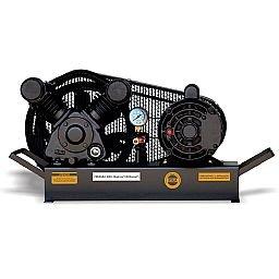 Compressor de Ar Baixa Pressão 10 Pés Sobre Base 120PSI 2HP 110/220V
