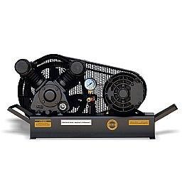 Compressor de Ar Baixa Pressão 10 Pés Sobre Base 120PSI 2HP Trifásico 220/380V