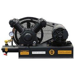 Compressor de Ar Sobre Base 10 Pés 120PSI 2HP Trifásico 220/380V