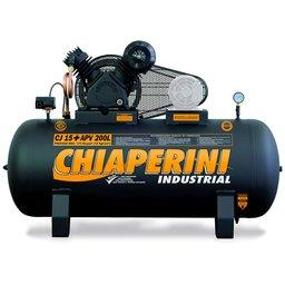 Compressor de Ar Alta Pressão CJ15+ APV 15 Pés 200L 175PSI sem Motor