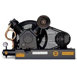 Compressor de Ar Alta Pressão Sobre Base 20 Pés 175PSI 5HP 2P 220/380V Trifásico