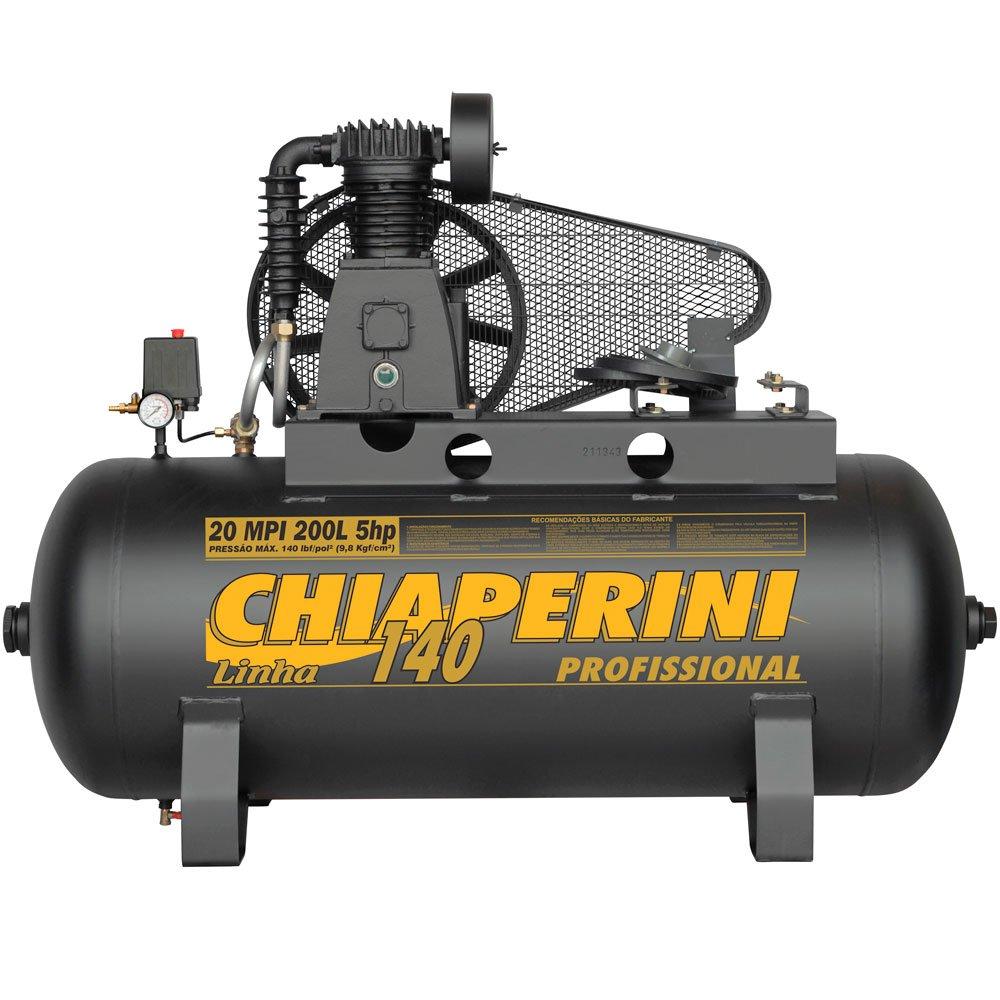 Compressor de Ar Média Pressão 20MPI 20 Pés 200L 140PSI sem Motor