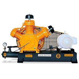 Compressor de Alta Pressão Sobre Base CJ40 AP3V 40 Pés 175PSI sem Motor Intermitente