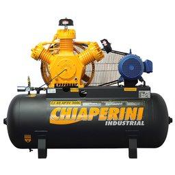 Compressor de Ar Alta Pressão Industrial 40 Pés 360L CJ40 AP3V 10HP Trifásico Contínuo 220/380V