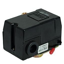 Pressostato 125/175PSI com Válvula e Chave 1 Via sem Manifold para Compressor de Alta Pressão