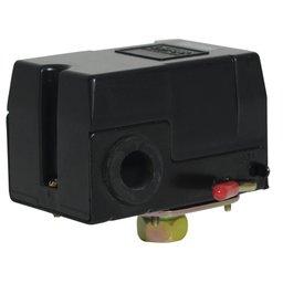 Pressostato 125/175PSI com Chave 1 Via sem Válvula e Manifold para Compressor de Alta Pressão