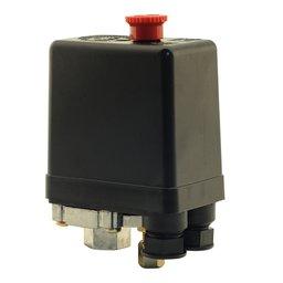 Pressostato Vertical 100/140PSI com Chave 1 Via sem Válvula e Manifold para Compressor de Média Pressão