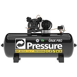 Compressor de Ar Ônix Pro 10 Pés 175L 2HP 140PSI Trifásico 220/380 Profissional