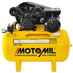 Compressor Air Power Trifásico 2P 2HP 150L 140 Libras 220/380V