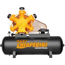Compressor de Ar Industrial Intermitente 175 Libras 60 Pés 425L Intermitente sem Motor
