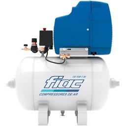 Compressor Odontológico 7,06 Pés 1,5CV 30 Litros Isento de Óleo Bivolt